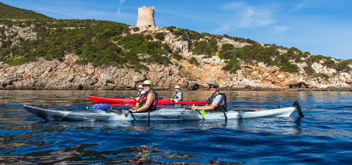 Italy - Kayaking Sardinia Europe
